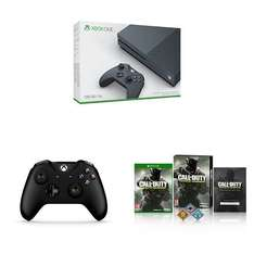 Xbox One S (500GB) Storm Grey + Controller + Call of Duty Infinite Warfare £259.99 (Exclusive to Amazon.co.uk)
