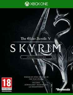 The Elder Scrolls V: Skyrim - Special Edition (XBOX ONE & PS4) £24.99 @ Game & Amazon