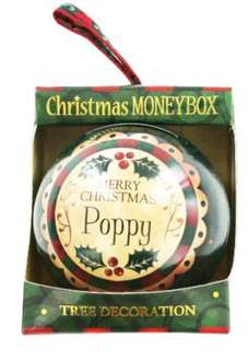 Personalised Money Box Bauble - 80p @ TheWorks.co.uk Free Click and Collect