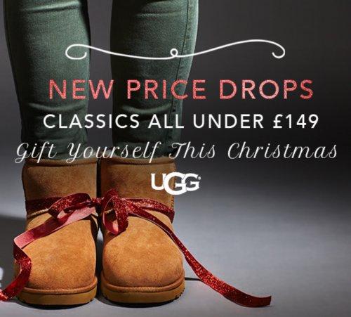 UGG Australia Classic Boots Price Drop + 20% OFF BLACKSUN Still Working..@ Shoeaholics