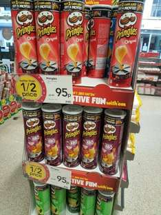 Pringles 95p in Wilkos buy 2 cans and get a free movie!