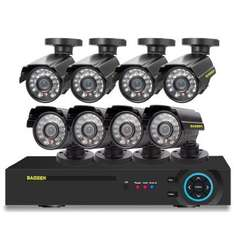 DAOSEN 960H DVR HD 8 Camera Security System - Night Vision - £117.04 - Gearbest
