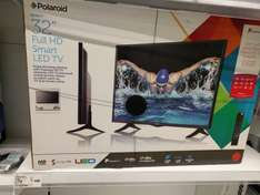 "Polaroid 32"" Smart LED TV with Freeview HD £79 at Asda instore"