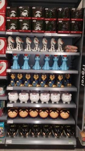 large piggy banks rtc Asda in store - galashiels ... star wars, my little pony, batman pig etc £3.00