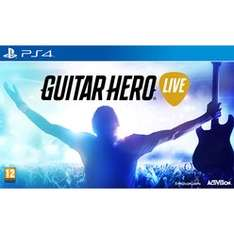 Preowned Guitar Hero Live (with guitar) XB1 & PS4 £17.99 @ Game