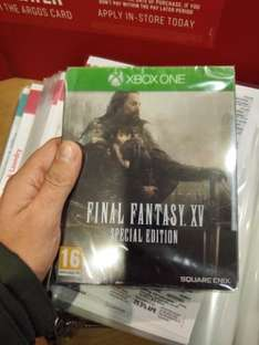 Final Fantasy XV Special Edition Steelbook + Digital Download Codes £42.99 @ Argos