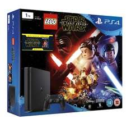 PS4 Slim 1TB + Lego Star Wars Force Awakens + SW Force Awakens Blu Ray + Witcher 3 + Bloodborne - £249.99 @ Grainger Games