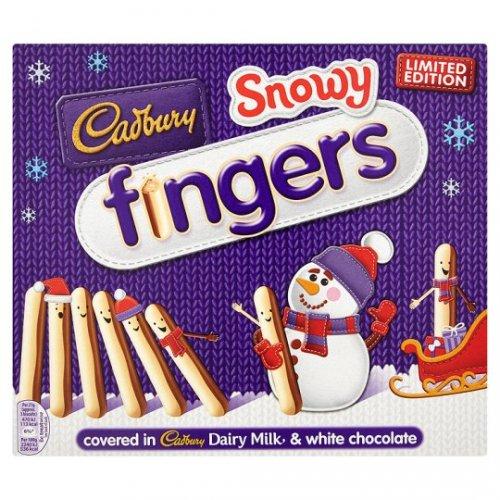Cadbury Snowy Fingers 2x 115g, Limited Edition £1.25 @ Sainsburys