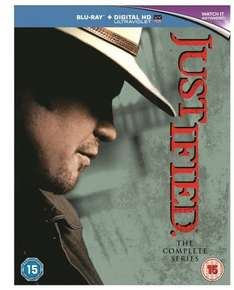 Justified: The Complete Series [Blu-ray + HD UltraViolet Copy] £36.00 w/code @ Zoom