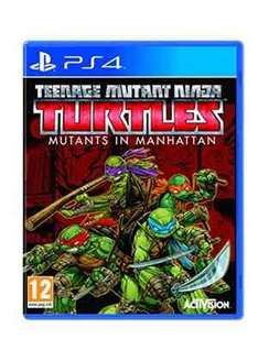 teenage mutant ninja turtles mutants in manhattan (PS4) £17.99 @ base