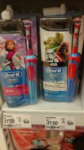 Kids Oral B power toothbrushes £17.50 instore  at Asda