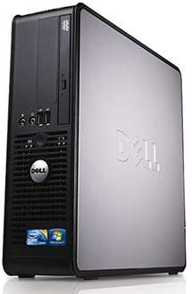 Refurbished Dell Optiplex Desktop PC, Dual Core, 4GB Ram, 160GB Hard Drive £60 Sold by PortableParts-UK and Fulfilled by Amazon.