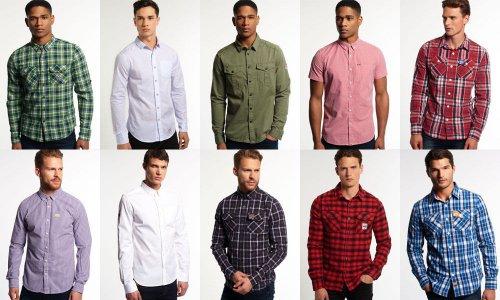 Men's Superdry shirts £19.99 or buy 2 for £30 delivered @ eBay sold by Superdry