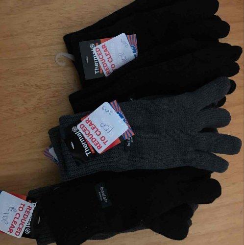 winter gloves 10p instore @ B&M Sheffield