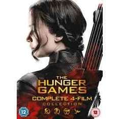 The Hunger Games Complete 4-Film Collection (DVD) £11.25 @ Tesco instore