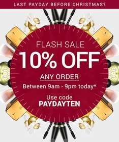 Massive savings at Fragrance Direct, plus today only an extra 10% off with code.