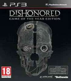 Dishonored GOTY Edition £3.99/ God of War 3 £4.99 (PS3) Delivered @ GAME