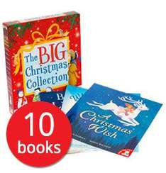 My Big Box of Christmas Stories Collection - 10 Books £11.04 delivered using stacking codes @ The Book People (Free gift on a £40+ Spend)