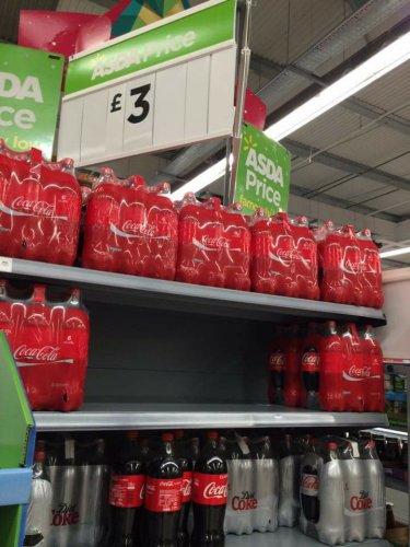 6x1.25L of Coca-Cola - £3 at Asda!
