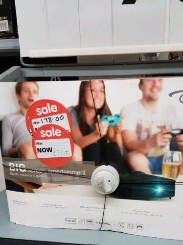 Optima DS348 projectors reduced £79 in ASDA Halesowen