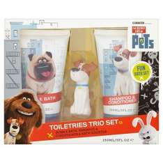 Secret life of pets gift sets reduced online only from £2 delivered @ Superdrug
