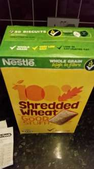 shredded wheat 30 pack 99p instore @ Heron Foods