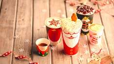 Buy a Christmas drink and get a piece of cake for £1 at Costa coffee