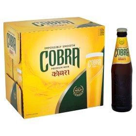 Asda Cobra lager 3 boxes of 12x330ml for £20