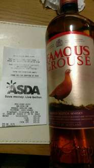 The Famous Grouse scotch whisky (1l) £15 @ Asda