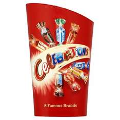 Iceland - 2 for £4 on Seasonal Confectionary (Celebrations / XL Galaxy Bars / Dairy Box / Walnut Whip / Chocolate Liquers / Jelly Babies / Wine Gums / Allsorts / Black Magic / After Eight / Elizabeth Shaw Choc Mint Crisps)