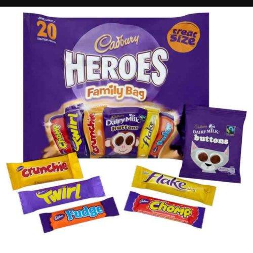 Cadbury heros Family bag 20p @ Sainsbury's instore