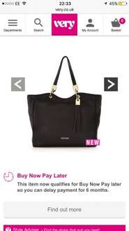 Guess bags Glitch priced wrong @ Very - £60