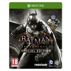 Batman Arkham Knight steelbook exclusive XBOX One at Tesco Direct for £15 (Free C&C)