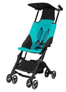 GB Pockit Stroller (World's smallest folding stroller) - Black and Blue - £100 + Free Delivery £99.99 at Ebay/Toys R Us