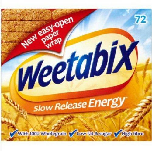 Weetabix 72 pack £4 in Asda