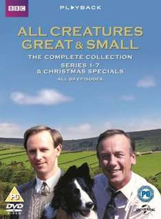 All Creatures Great and Small: Complete Series (Box Set) [DVD] £19.88 with code SIGNUP10 @ Zoom.co.uk
