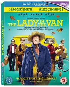 The Lady in the Van (with Digital HD UltraViolet Copy) [Blu-ray] £5.48, DVD £3.69 (both with free delivery) using code SIGNUP10 @ zoom