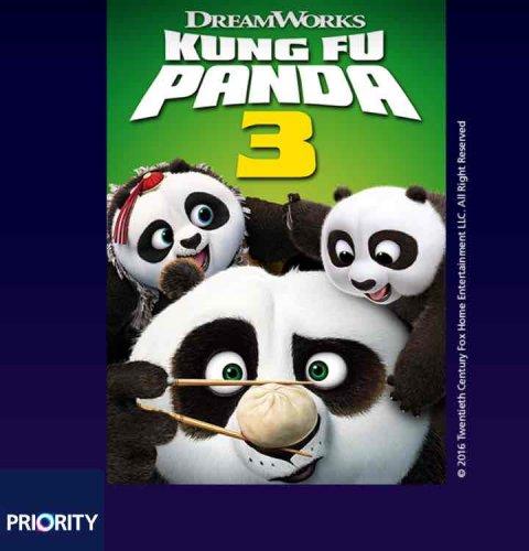 Kung Fu Panda 3 - Free Movie Rental on O2 Priority Moments