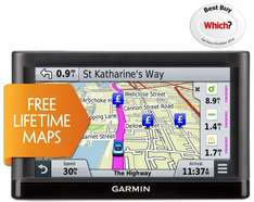 "Garmin Nuvi 55 LM 5"" UK, Ireland & Western Europe Lifetime Maps for £40 at Halfords (Ex Display, Free R+C)"