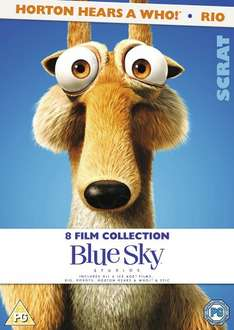 8 Film dvd Collection £7 with Prime (£9.99 non prime): Epic, Horton Hears A Who, Ice Age 1, 2, 3 and 4, Rio & Robots @ Amazon (also at £7 from tesco)