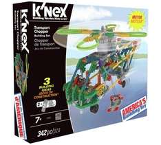 K'Nex Transport Chopper, less than half price £9.99 @ Argos
