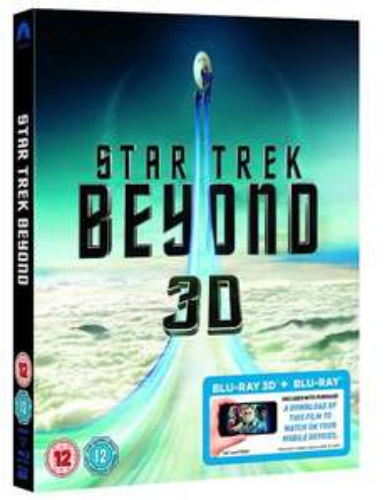 Star Trek Beyond 3D Blu-ray £14.99 Amazon Prime - Non £16.98