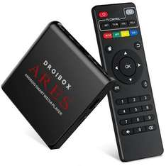 DROIBOX® Ares 2GB+16GB 4K Android 6.0 TV Box (With Free Air Mouse Offer) £31.96 Sold by DigiDirect and Fulfilled by Amazon