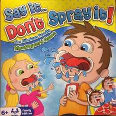 Say it don't spray it Game (Same as Speak out) £12 @ Wilko