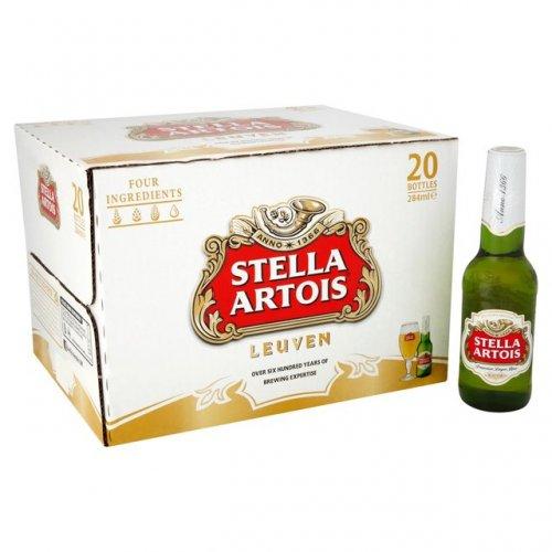 2 x (20x284ml) Stella Artois - Just £19 @ Ocado! (Potential for 37.5p per bottle!)