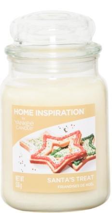 Yankee Candle Home Inspiration Large Jar - Santa's Treats down to £10.00 @ Asda (Free C&C)