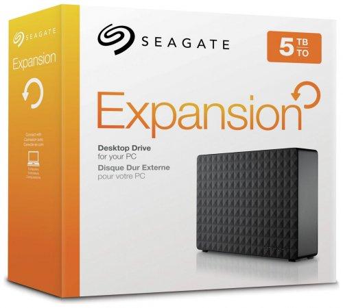 Seagate Expansion 5TB Desktop USB 3.0 Hard Drive - £109.99 @ Argos (free C&C)