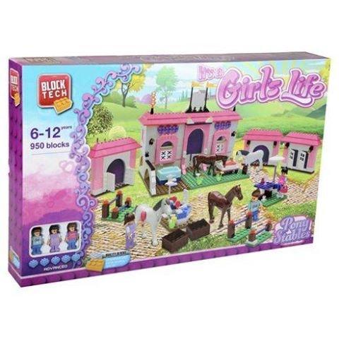 Block Tech Pony Stables - £12.50 @ Tesco (free C&C)