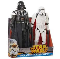 Star Wars Darth Vader and Stormtrooper Twin Pack £20 Tesco Direct