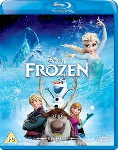 Frozen Blu Ray (Used) £4.23 @ Music Magpie